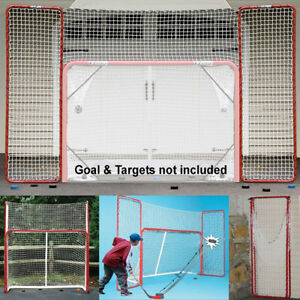 EZGoal Hockey Backstop, Red/White New in Box