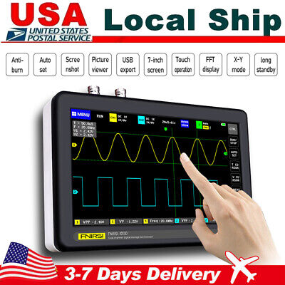 1013d 7 Inch 2ch Digital Tablet Oscilloscope 100mhz Bandwidth 1gs Sampling Rate