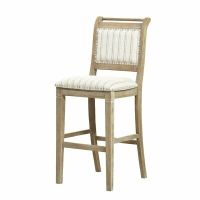 Riverbay Furniture Bar Stool in Rustic Wash