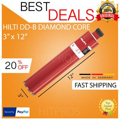 Hilti Diamond Core Bit Dd-b 77320 3 X 12 Hdmu Brand New Fast Shipping