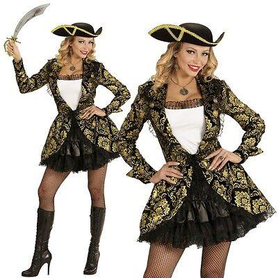 Piratenbraut Piratin Deluxe Damen Kostüm Gr. M (38/40) Karneval Fasching #9112 ()