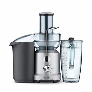 Breville L.P. BJE430SIL Juice Fountain Cold Juicer, Silver