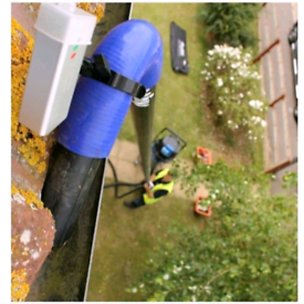 Gutter cleaning, Fife area.