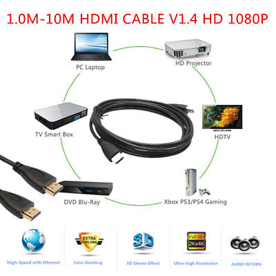 Hi Performance Hdmi Cable (Hi-Performance Ultra Fine High Speed Transmission HDMI Cable 1m-10m LOT)