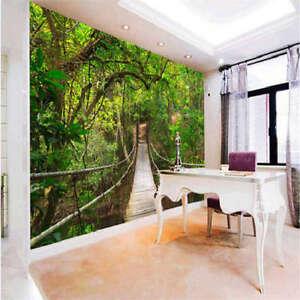 TieSuoQiao-largas-3D-Lleno-Pared-Mural-Foto-Papel-Pintado-Impresion-Casa-Decor