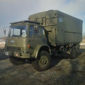 1986 AWD Bedford (Military Army)