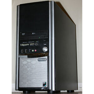 TouchSystems Desktop PC AMD Dual Core 4GB RAM 500GB DVDRW HDMI