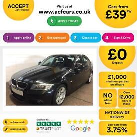BMW 320 2.0TD 2010.5MY d M Sport FROM £39 PER WEEK!