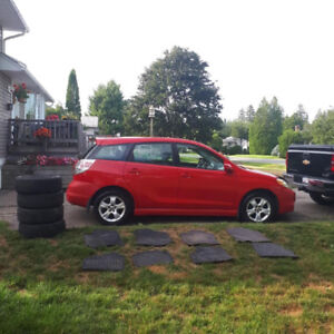 2005 Toyota Matrix XR with winter tires for sale