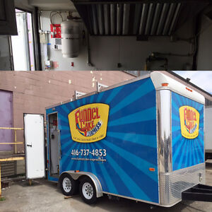 Chip Truck Fire Suppression System Installations