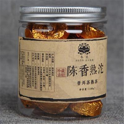 100g Yunnan Canned Puerh Tea Chen Xiang Small Tuocha Puer Tea Pu Er Ripe Tea 普洱茶