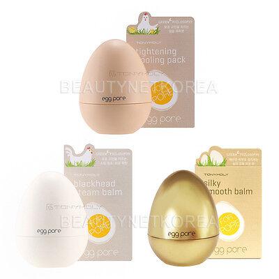 [TONYMOLY] Egg Pore 3 Items Set [Blackhead Steam Balm+Cooling Pack+Smooth Balm]