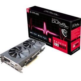 AMD SAPPHIRE Pulse RX 580 8GB graphics card