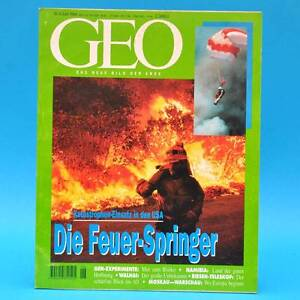 GEO Magazin 6/1994 Feuerspringer Walhai Namibia Land art Riesen-Teleskop