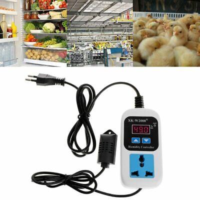 Humidity Controller Outlet 110v 220v 10a Direct Output Hygrometer 099rh