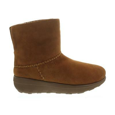 Fitflop Mukluk Boots (FitFlop Mukluk Shorty 2 Boots, Chestnut, Velourleder, Warmfutter B96-047 )