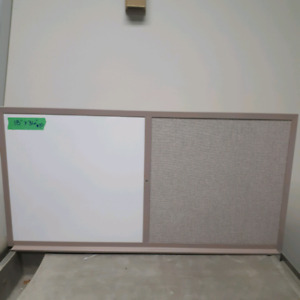 "Whiteboard/tackboard 18""x36""- 2 available"