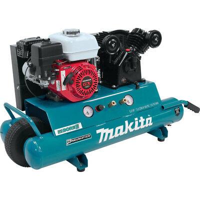 Makita 5.5 Hp 10 Gallon Oil-lube Gas Air Compressor Mac5501g New