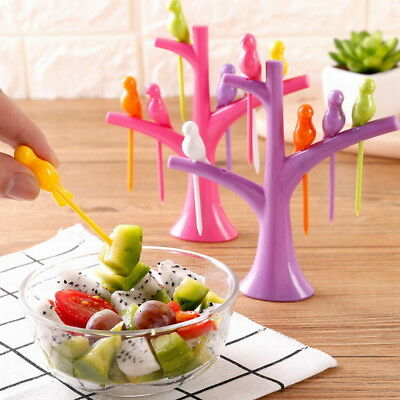 Kitchen Accessories Cooking Fruit Vegetable Tools Gadgets Fashion Fork Set Hot