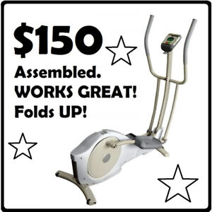 TEMPO Evolve Elliptical Trainer (CE11) --- $150 ONLY !!