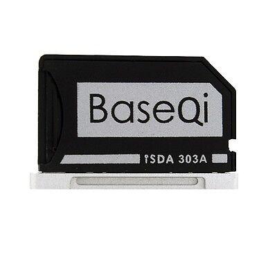 BASEQI Aluminum miniDrive : MicroSD Adapter for Macbook Pro Retina 13 (iSDA303A)
