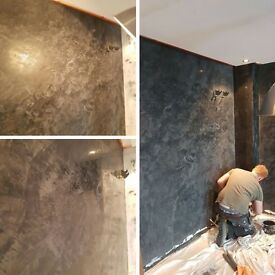 Specialist Venetian Plasterer, Decorator, Painter, Italian Stucco, polished Plaster, Marble walls