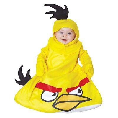 Kostüm~USA~56-62-68~Angry Bird~Fasching~Karneval~Babykostüm~0-9 Monate~Overall~ (Gelbe Angry Bird Kostüme)