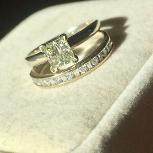ENGAGEMENT RING SET, PRICED TO SELL!