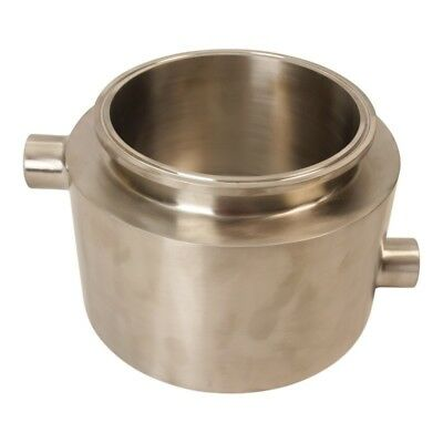 Sanitary Tank Tri Clamp 6 Inch X 4 W 12 Weld Base Jacketed Ss304