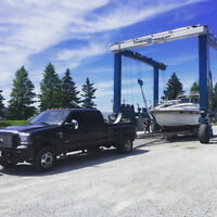power boat shipping ontario wide. Upto 34ft.