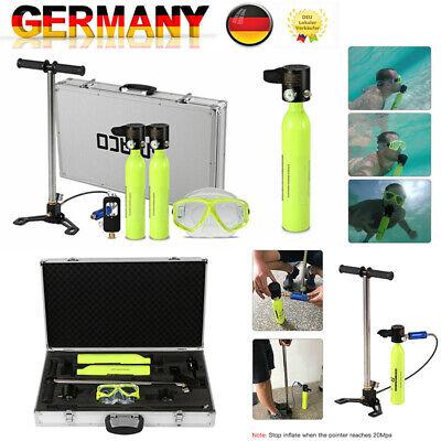 Smaco Diving Mini Scuba 0.5L Cylinder Sauerstoffflasche Unterwasseratemgerät Kit