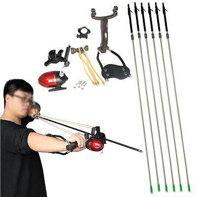 Archery Bow Shooting Fishing Hunting Carbon Arrows Slingshot Catapult Sling Shot