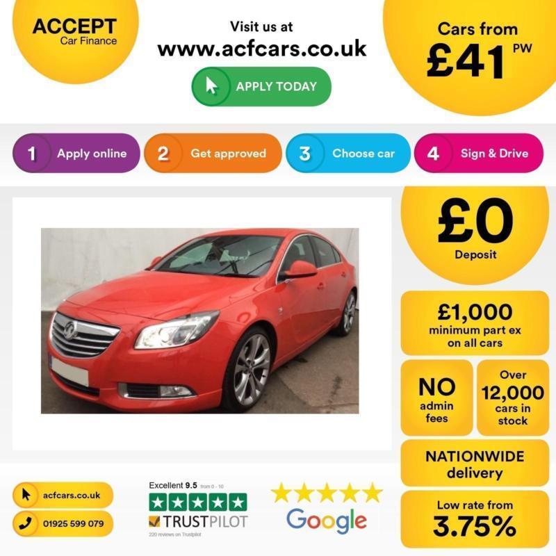 Vauxhall/Opel Insignia 2.0CDTi 16v FROM £41 PER WEEK.