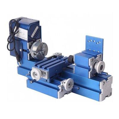 Mini Metal Lathe Cnc Diy Tool Woodworking Lathe Machine Teaching Model Making