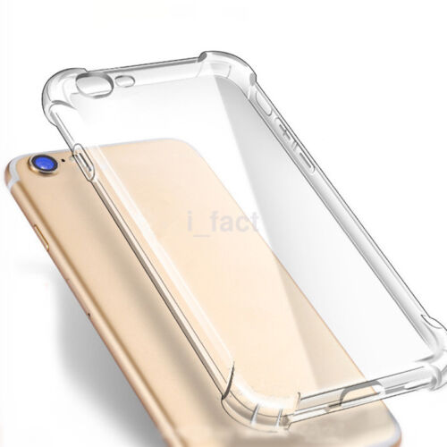 Hybrid Rubber Shockproof TPU Clear Cover Case for Apple iPhone 6 6s 7 Plus 8 X
