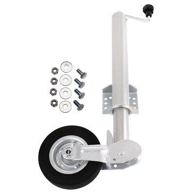 ORIGINAL TECPO PKW Automatikstützrad 60 mm Anhänger klappbar bis 400 kg Stüzrad