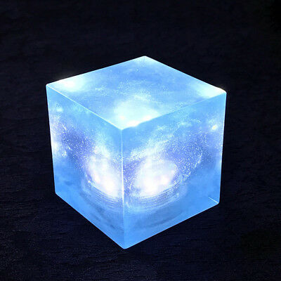 Avengers Thanos Tesseract Cube Universe LED Light Infinity War Cosplay Props 5cm