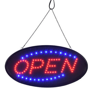 Bright Animated Led Open Store Shop Bar Business Sign 19x10 Neon Lights Show Us