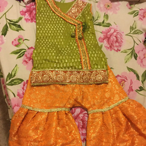 Eid dresses for 6 to 7 years old girls