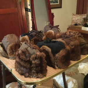 Vintage muskrat trapper hats for sale Regina Regina Area image 6