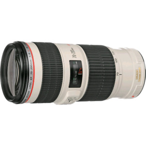 Selling a Canon 70-200 mm F4L IS