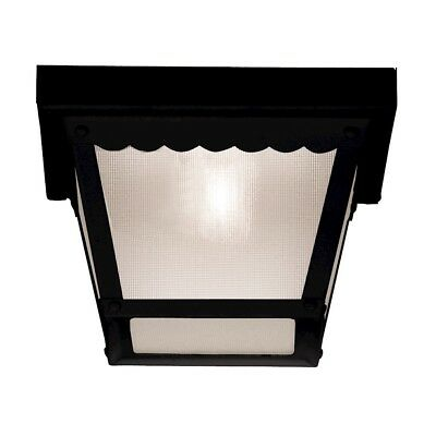 Savoy House Exterior Collections Flush Mount in Black - (Blk Exterior Collections)