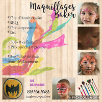 Maquillages Baker