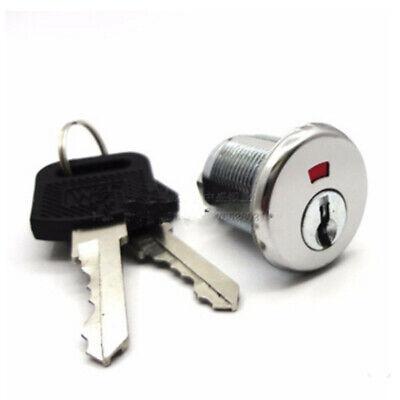 Locker Set With 2 Keys Safe Cylinder Locks Tool Box Table File Drawer Desk