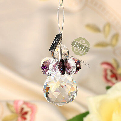 Handmade Hanging Rainbow Suncatcher Crystal Prisms Ball ...