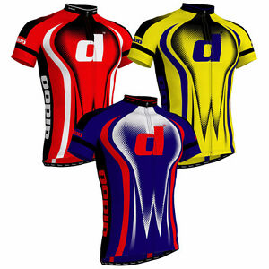 Men's Short Sleeve Cycling Jerseys Bicycle T-Shirts Tops
