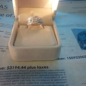 One of a Kind Diamond Ring / Appraisal over $3000