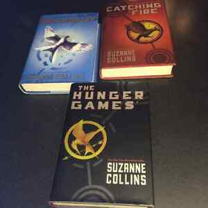 Hunger Games three hard cover book set - $10.00