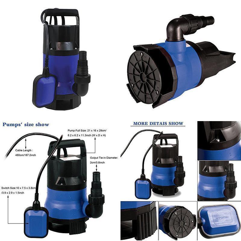 SumpMarine SM10102 1/2HP Clean/ Dirty Water Submersible Pump