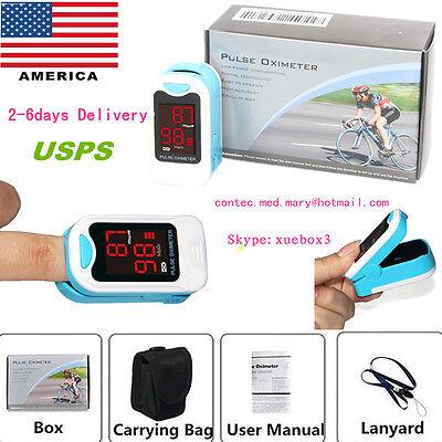 Led Fingertip Pulse Oximeter Spo2 Monitorcarry Caselanyardcms50m Hot Sale .